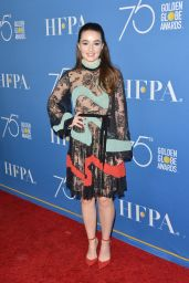 Kaitlyn Dever At Golden Globes 75th Anniversary Special Screening and HFPA Holiday Reception in Los Angeles
