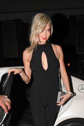 Karlie Kloss Heading to the afterparty at The Chiltern Firehouse in London, UK