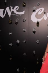 Karrueche Tran At Curve Fragrances Holiday Party in NYC
