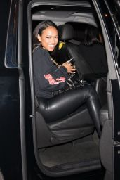Karrueche Tran Leaving Catch in West Hollywood