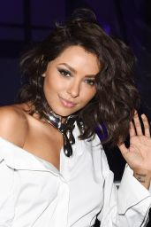 Kat Graham Seen heading to Refinery29 Event in Los Angeles