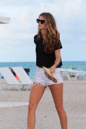 Kate Bock At the beach in Miami Beach