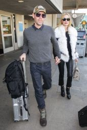 Kate Bosworth and husband Michael Polish are seen in Los Angeles, California
