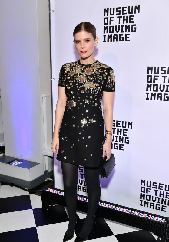 Kate Mara At Museum of the Moving Image Salute to Annette Bening in NYC