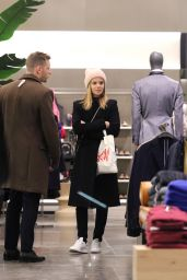 Kate Mara Goes shopping with Jamie Bell in Manhattan