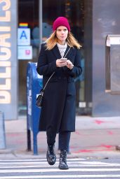 Kate Mara Out for a stroll in Soho, New York City