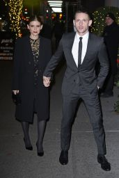 Kate Mara Outside Museum of the Moving Image Salute to Annette Bening in NYC