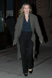 Kate Winslet Out and About in New York City