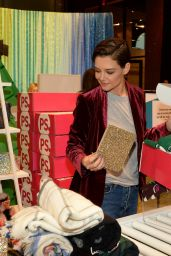 Katie Holmes At the Old Navy x PopSugar Deck The Hauls Gifting Pop-Up, NY