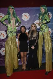 Katie McGlynn & Tisha Merry At The Lazy Lizzard Club Launch in Manchester