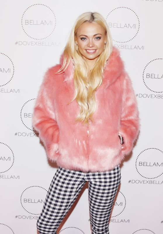 Katja Glieson At the Dove x BELLAMI Collection launch party, Culver City