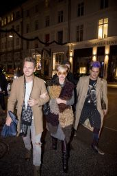 Katy Perry At night out in Denmark