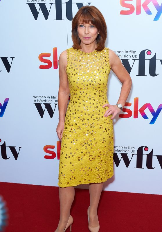 Kay Burley At Sky Women in Film and TV Awards, London, UK