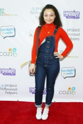 Kayla Maisonet At Project Hollywood Helpers event in Los Angeles