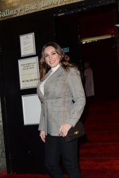 Kelly Brook Attends Blue/Green - secret gig in London