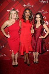Lacey Chabert At Hallmark Channel Screening of Christmas at Holly Lodge