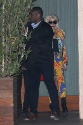 Lady Gaga And and her boyfriend Christian Carino seen leaving the So Ho