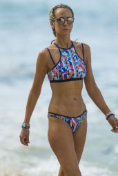 Lady Victoria Hervey Is spotted on the beach in Barbados