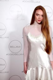 Larsen Thompson At Dove x BELLAMI Collection Launch Party in Culver City