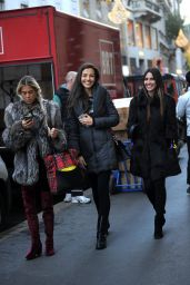 Laura Barriales Out and about, Milan, Italy