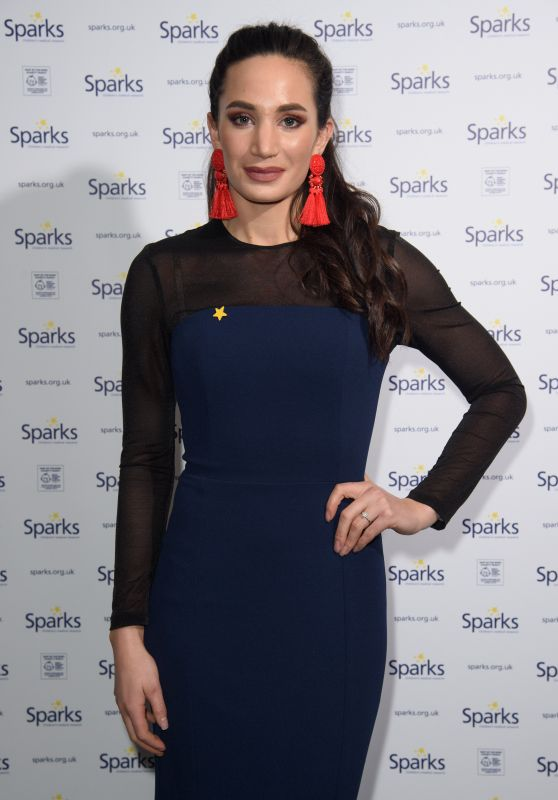 Laura Wright At Sparks Winter Ball, London, UK