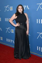 Lauren Ash At Golden Globes 75th Anniversary Special Screening & HFPA Holiday Reception at Paramount Studios in Hollywood