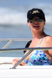 Lauren Silverman and mom Carole Davis sizzle in swimsuits while on holiday in Barbados