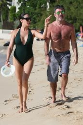 Lauren Silverman Shows off her svelte figure at the beach in Barbados