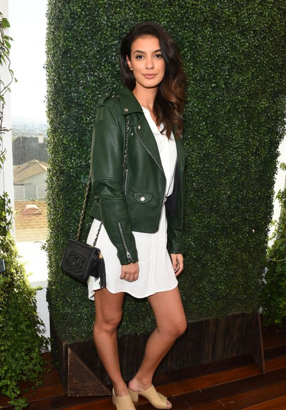 Laysla De Oliveira At Lyda Beauty Launches Cleopatra Cat Eye Stamp at Ivory on Sunset at Mondrian - Los Angeles