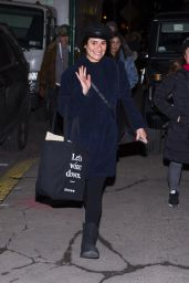 Lea Michele Shopping in NYC