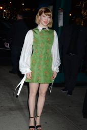 Léa Seydoux At An Evening Honoring Louis Vuitton and Nicolas Ghesquiere in New York City