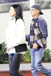Liberty Ross Seen arriving with her husband to Jingle Ball 2017 at the Forum in Inglewood