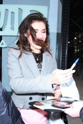 Lili Mirojnick Greets fans after an appearance at AOL Build Series promoting her SyFy series Happy - New York