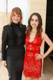 Lily Collins At The Hollywood Reporter
