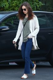 Lily Collins Out and about in Hollywood