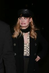 Lily James Arriving at