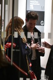 Lily James & Matt Smith Out in London
