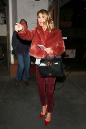 Lori Loughlin As she left a dinner outing at Madeo restaurant in West Hollywood