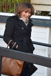 Lorraine Kelly At the ITV studios in London