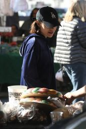 Lucy Hale At the Farmer