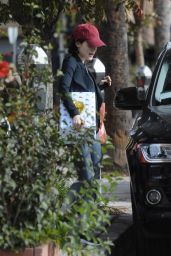 Lucy Hale Outside of Granville restaurant in Studio City