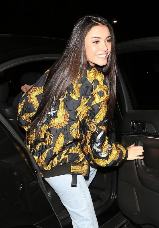 Madison Beer Keeps it cute at Poppy in West Hollywood