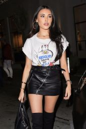 Madison Beer Keeps it cute for dinner at Catch LA in West Hollywood