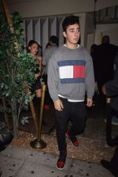 Madison Beer Keeps it trendy for dinner at Catch LA in West Hollywood