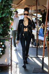Madison Beer Out for lunch in West Hollywood