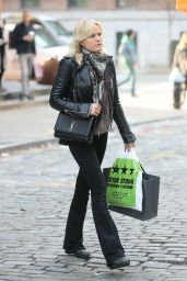 Malin Åkerman Seen out and about New York