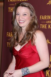 Margot White At Opening night of Farinelli and the King at the Belasco Theatre, New York