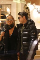 Mariah Carey Shopping at Louis Vuitton in Aspen