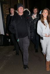 Megan McKenna Seen at the Music Bank were she had rehearsals with a band in London