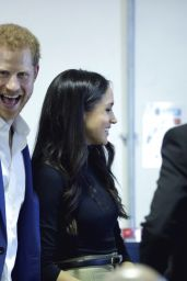 Meghan Markle & Prince Harry At Terrence Higgins Trust World AIDS Day charity fair in Nottingham